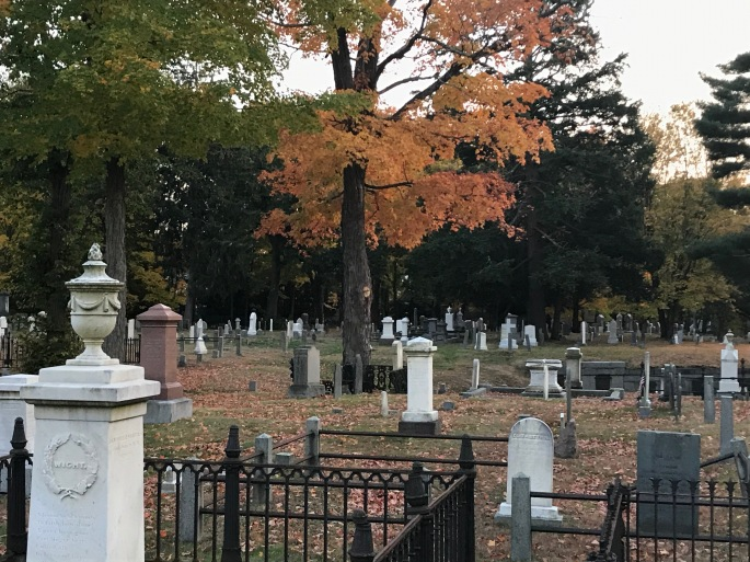 Old Village Cemetery, Fall 2020